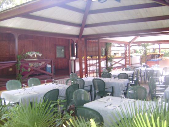 Baia Samuele Hotel Villaggio: ristorante mare