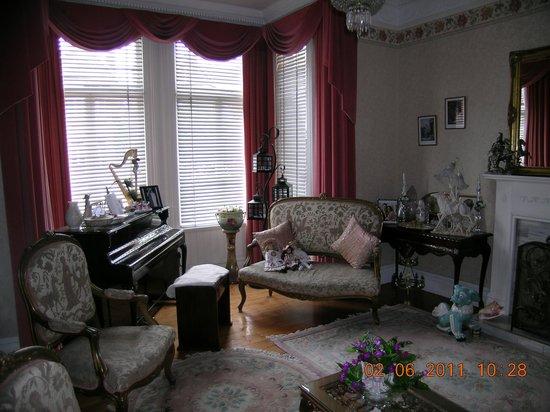 Hydra House B&B Dublin : il salotto...a voi i commenti