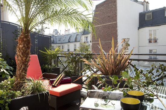 Villa Madame : Terrasse Suite