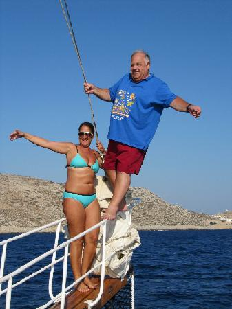 Katerina 3 Island Cruise : Myself Showinf Off!!