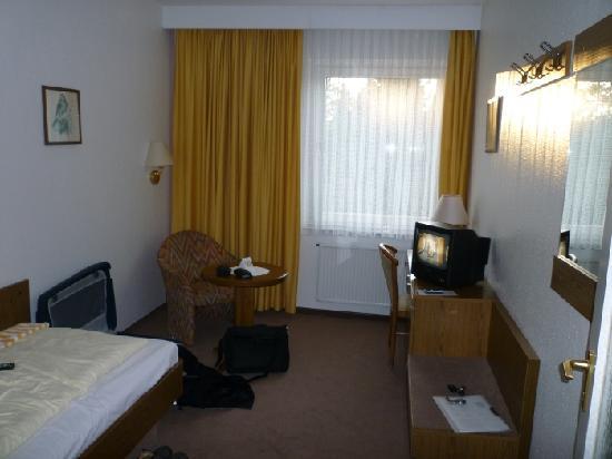 Hotel Cockpit: Blick ins Zimmer