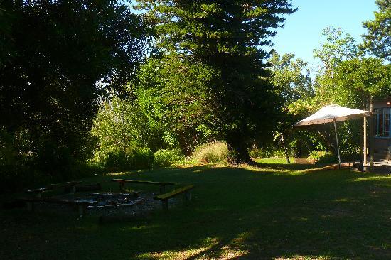 Ukholo Lodge: garden