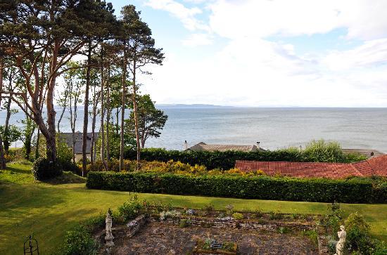 Invernairne Hotel: Ausblick nach Norden über den Moray Firth