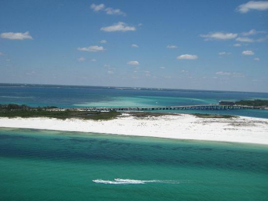 Дестин, Флорида: parasailing view
