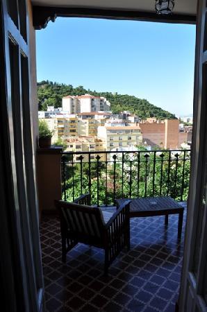 Hotel Monte Victoria: our balcony