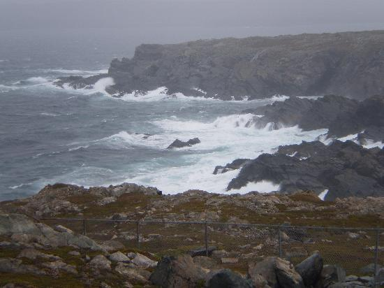 Near the Cape Bonavista lighthouse. Pray for bad weather!