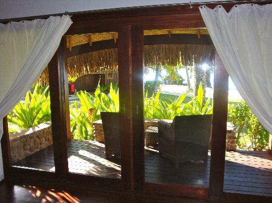 Bungalow Terrace Picture Of Sofitel Moorea Ia Ora Beach