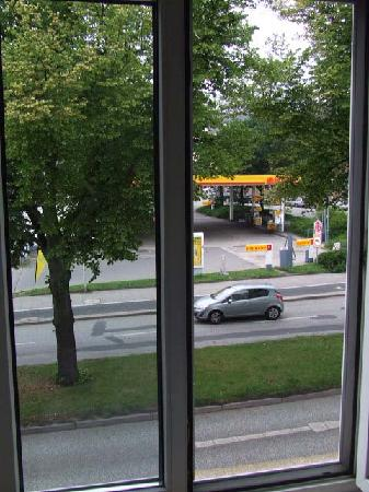 Rabe's Hotel Kiel: View out of the window