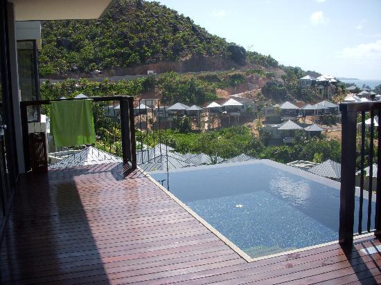 Raffles Seychelles: Piscine privée de la chambre