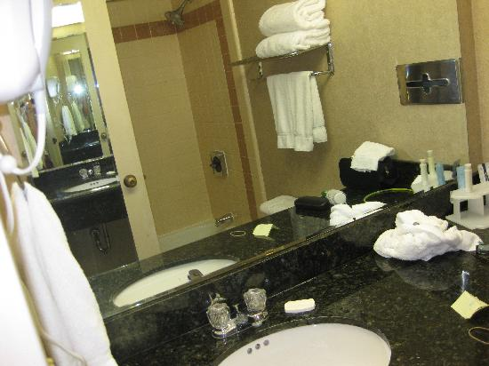 Quality Inn & Suites: Bathroom again