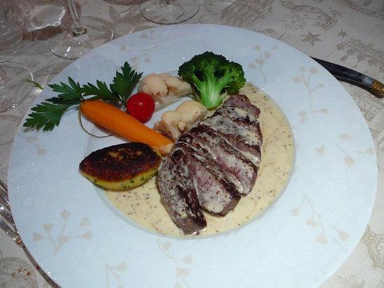 Restaurant Jean-Victor Kalt : Hauptgang