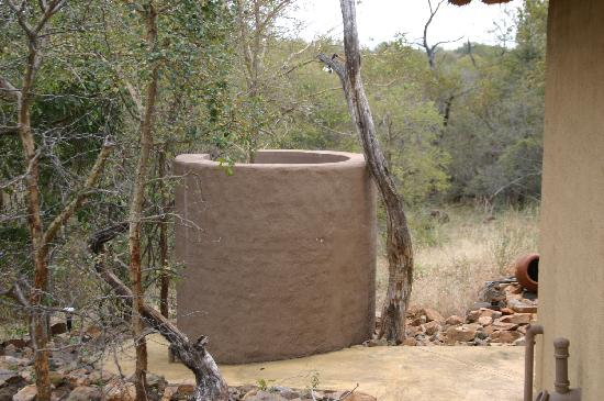 Shikwari Game Reserve : The beautiful outdoor shower