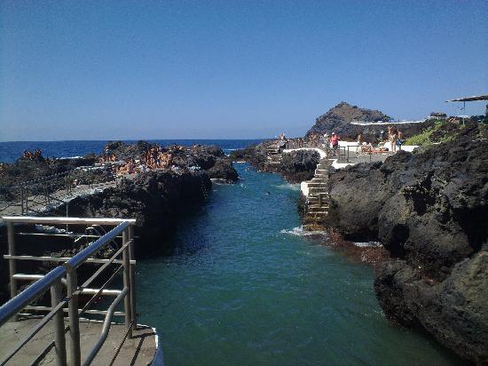 Garachico, España: Piscina 2