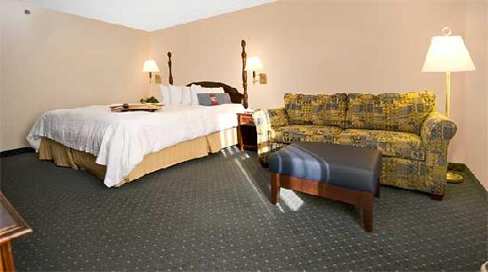 Hampton Inn and Suites Raleigh/Cary-I-40 (PNC Arena): King Study