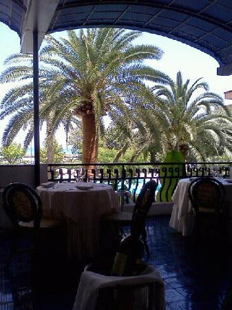 Grand Hotel Don Juan: La terrazza del ristorante