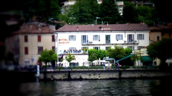 Hotel Marco's: hotel marcos from lake como.