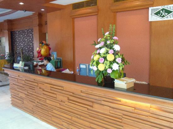 Hatyai Paradise Hotel & Resort: Reception
