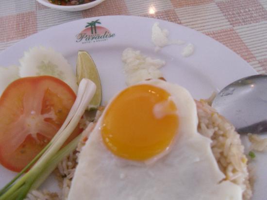 Hatyai Paradise Hotel & Resort: Nice grub.