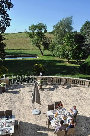 Chateau Carbonneau: View from window!
