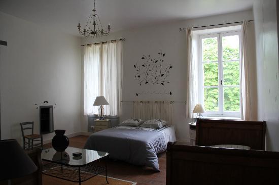 """Domaine de Lamothe : la chambre """"feuillage"""""""