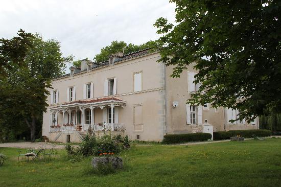 Domaine de Lamothe : la terrasse