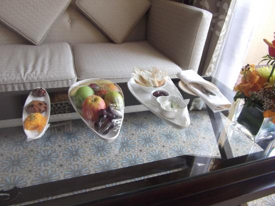 Hilton Ras Al Khaimah Resort & Spa: Begrüßung vom Hotel