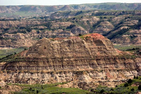 Badlands in Theodore Roosevelt National Park