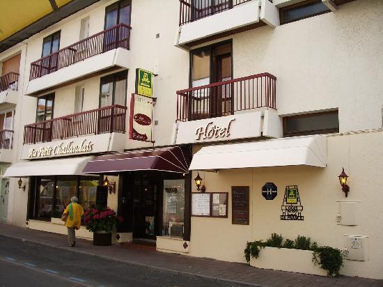 Hotel Le Marais : l'entrée