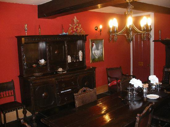 Hafod Elwy Hall: Dining Room