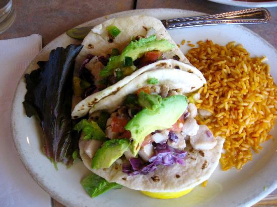 La Choza : Fish Tacos