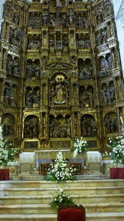 Medina-Sidonia, Spain: Il retablo