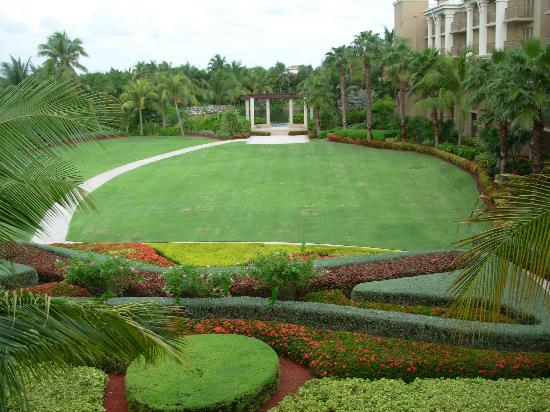 The Ritz-Carlton, Grand Cayman: the gardens