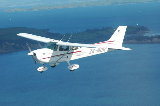 Waiheke Island, New Zealand: One of our aircraft