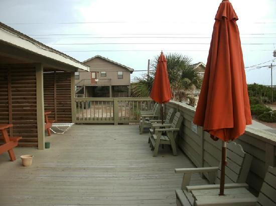 Surf City, Carolina del Norte: the deck. Awesome!