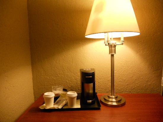 Four Points by Sheraton San Rafael : no coffee