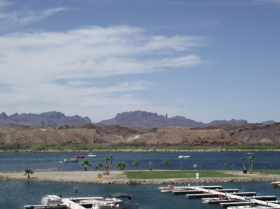 "BlueWater Resort and Casino: The Colorado River and little star-gazing ""island"""