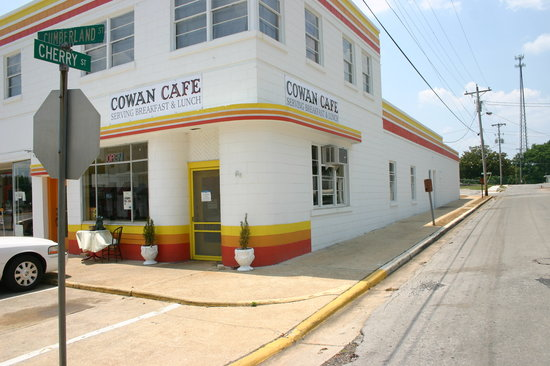 Cowan Cafe from the Street