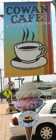Cowan Cafe: Ice Cream in Cowan