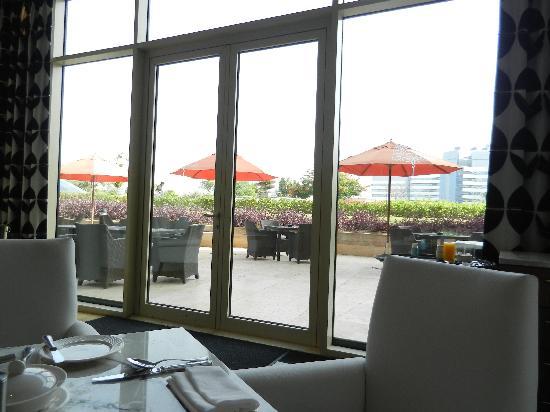 Raffles Dubai: Our room and the Raffles Hotel
