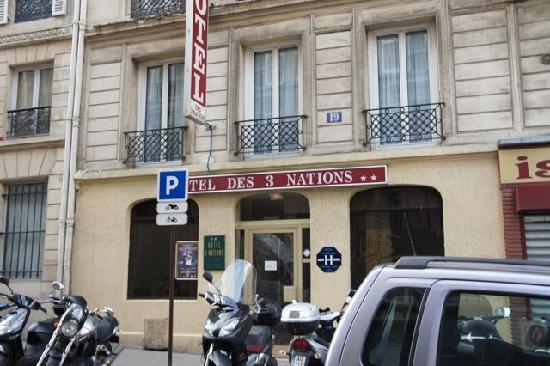 Hotel Des 3 Nations: 外観