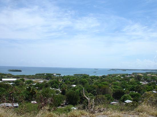 Parador Villa Parguera: Picture of bay from road above