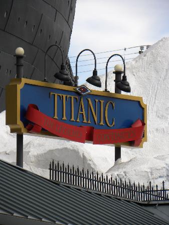 Titanic Museum: Museum Sign
