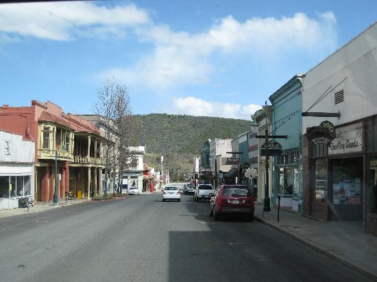Yreka Miner Street National Historic District Old