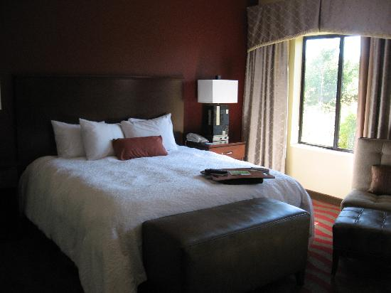 Hampton Inn & Suites - Paso Robles: Bedroom Area