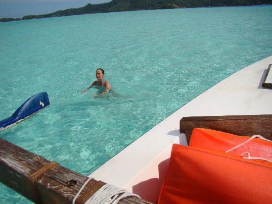 Sofitel Bora Bora Marara Beach Resort : el agua soñada