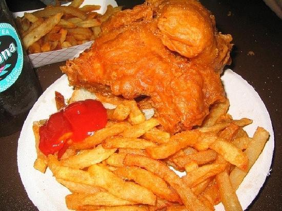 Rip's Tavern: best fried chicken
