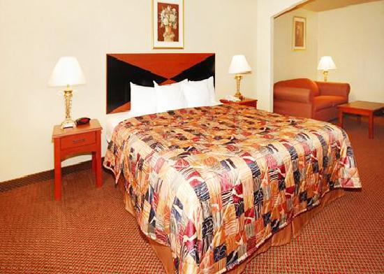 Sleep Inn and Suites: king suites
