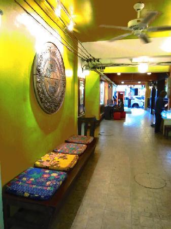 Sawasdee Khaosan Inn: relaxing corner