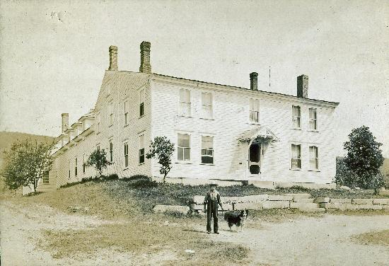 Six Chimneys & A Dream circa 1880--was known as McClure's Tavern and also home to the East Hebro