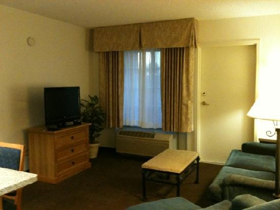 Hampton Inn & Suites Phoenix/Scottsdale: Living area